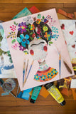 Frida Kahlo Collage, Private listing for Priti