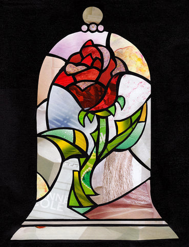 Enchanted Rose wall art