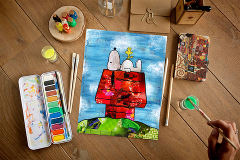 Peanuts and Snoopy Art