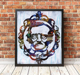 Edgar Allan Poe Wall art