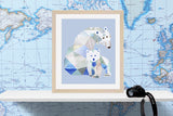 Polar Bear Nursery Art