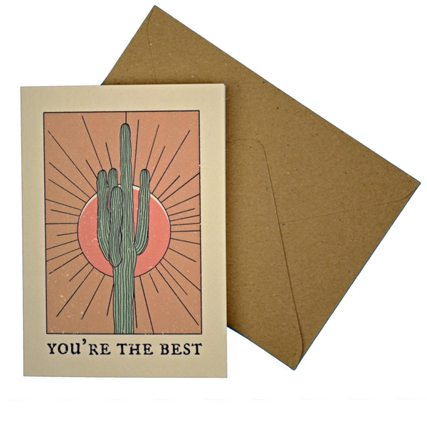 """You're the Best"" Greeting Card"
