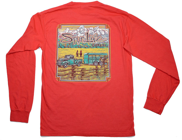 Vintage Truck & Trailer Long Sleeve
