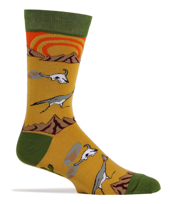 Roadrunner- Men's Crew Sock