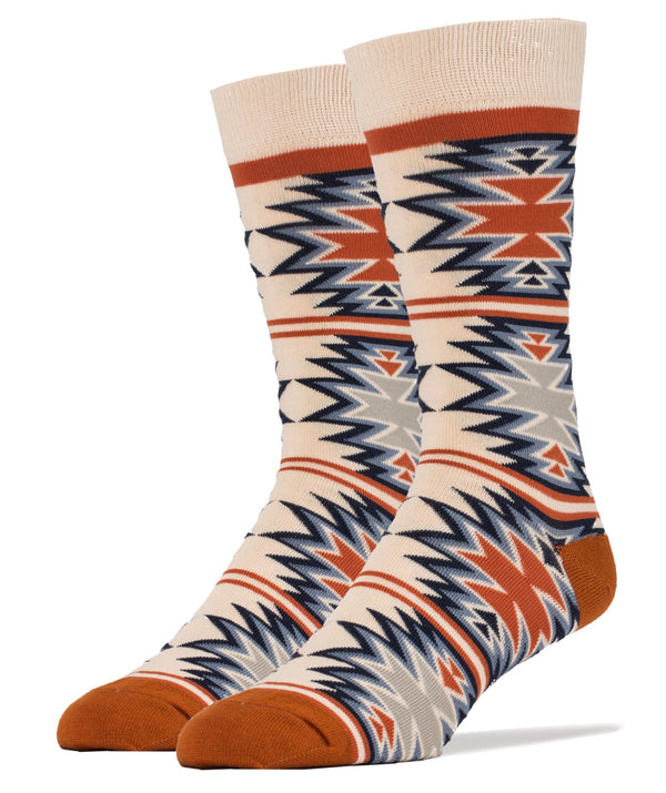 Coral Root- Men's Crew Sock