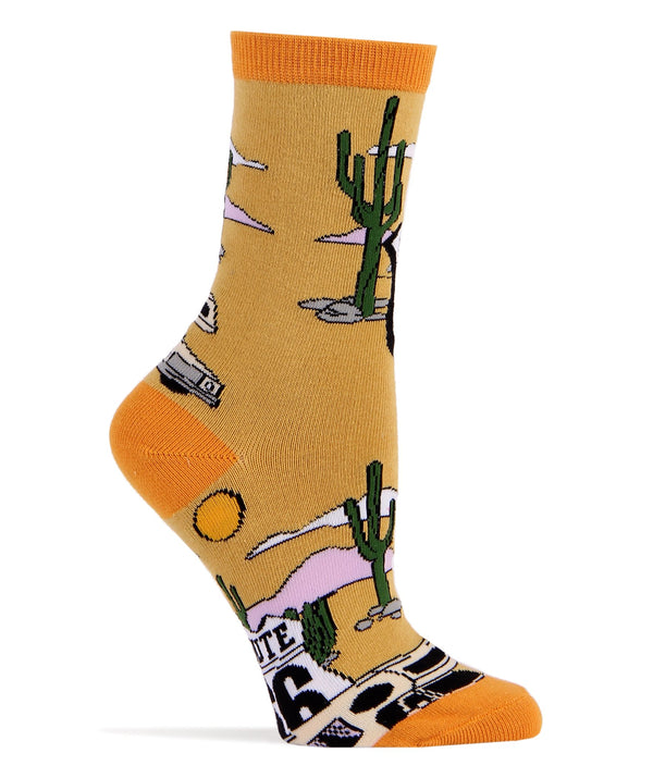 Get Your Kicks- Women's Crew Sock