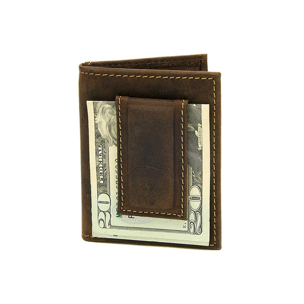 SPURWEST Money Clip Wallet