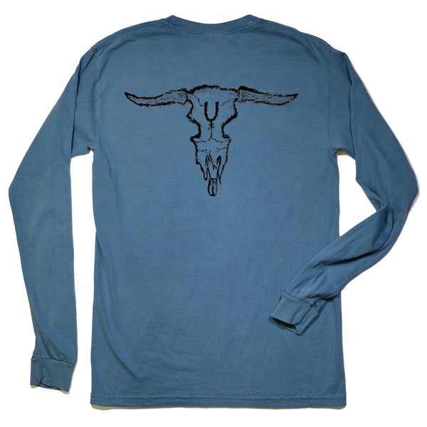 Steer Skull Long Sleeve