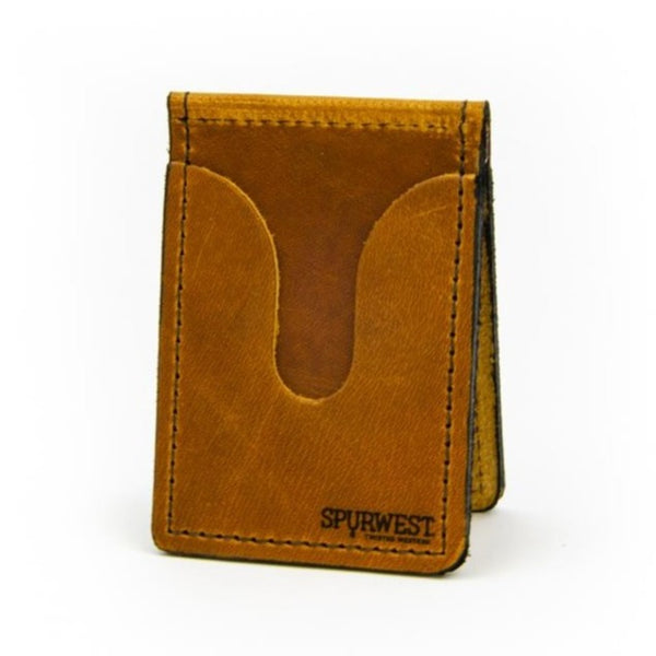 SPURWEST Minimalist Pocket Wallet