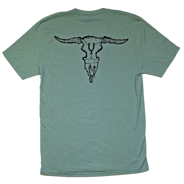 Steer Skull Short Sleeve