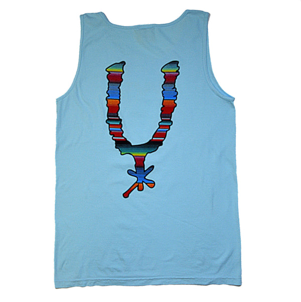 Serape Spur Adult Tank Top