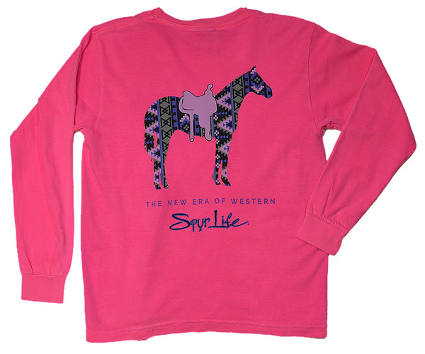 Youngins Aztec Horse Long Sleeve