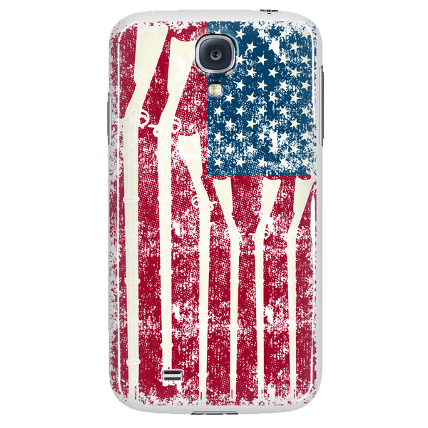 American Gun Flag Phone Case for Galaxy and iPhone