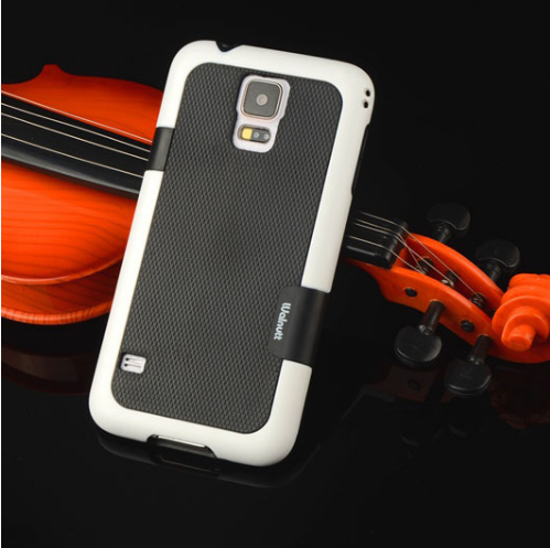 Double Color ARMOR Soft Hybrid Back Case For Samsung Galaxy S5