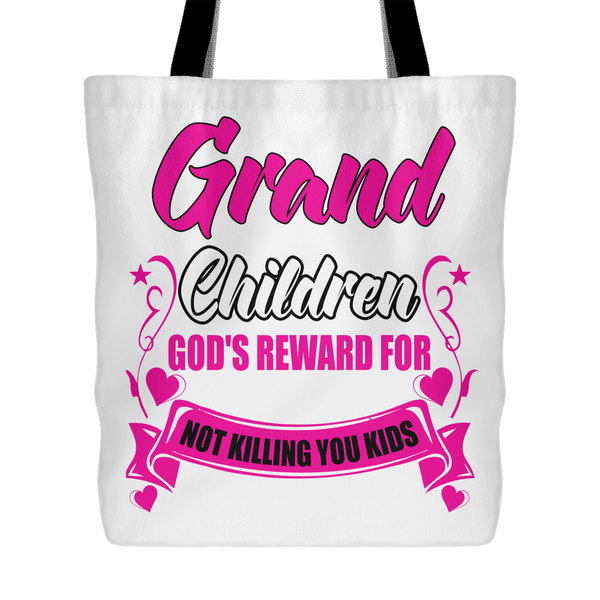 Grandchildren Rewards Tote Bag