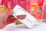 Red Wine Cup Liquid Transparent Case Cover For Apple iPhone 4 4S 5 5S 6 6 Plus