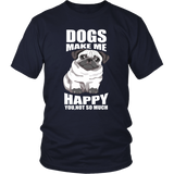 NEW Dogs Make Me Happy T Shirts!