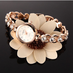 Women Luxury Stainless Steel Female Wrist Watch