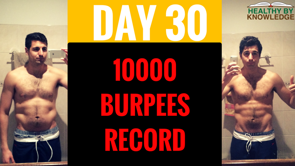 BURPEE CHALLENGE DAY 30 (THE END)