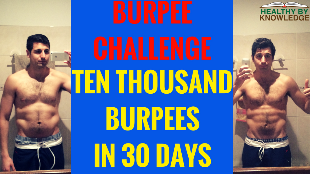 THE JOURNEY OF 1000 BURPEES BEGINS WITH A SINGLE REP