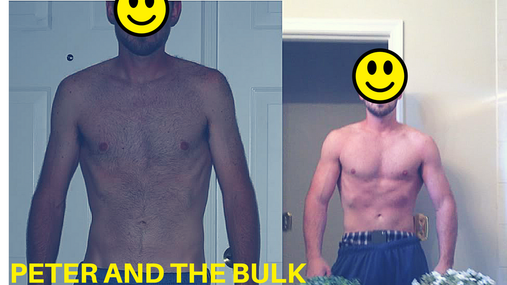 How Peter overcame his inability to bulk with one simple change
