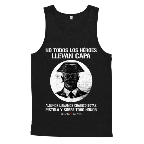 Camiseta sin mangas Guardia Civil Héroes