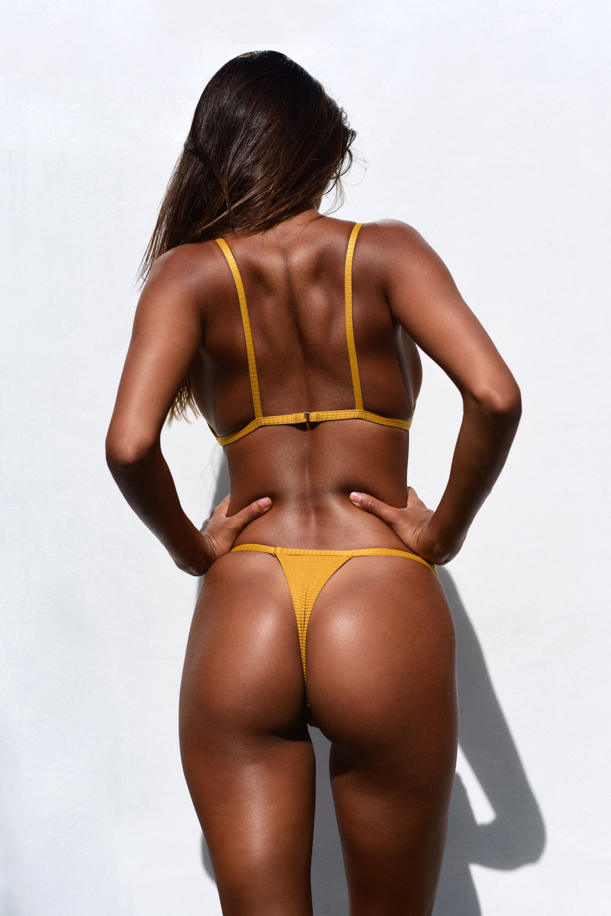 KENDALL BOTTOM / MUSTARD RIB