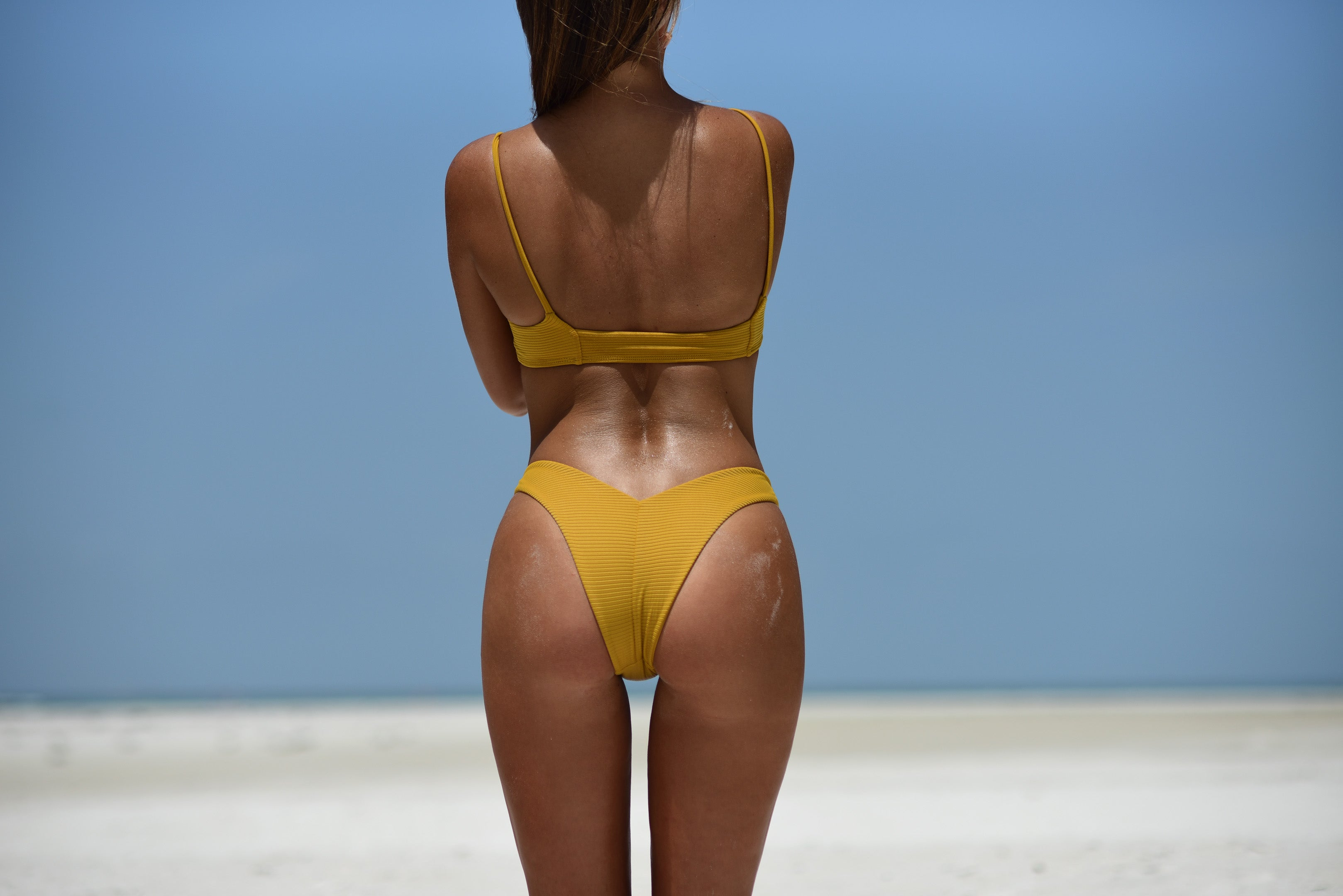 MILA BOTTOM/ MUSTARD