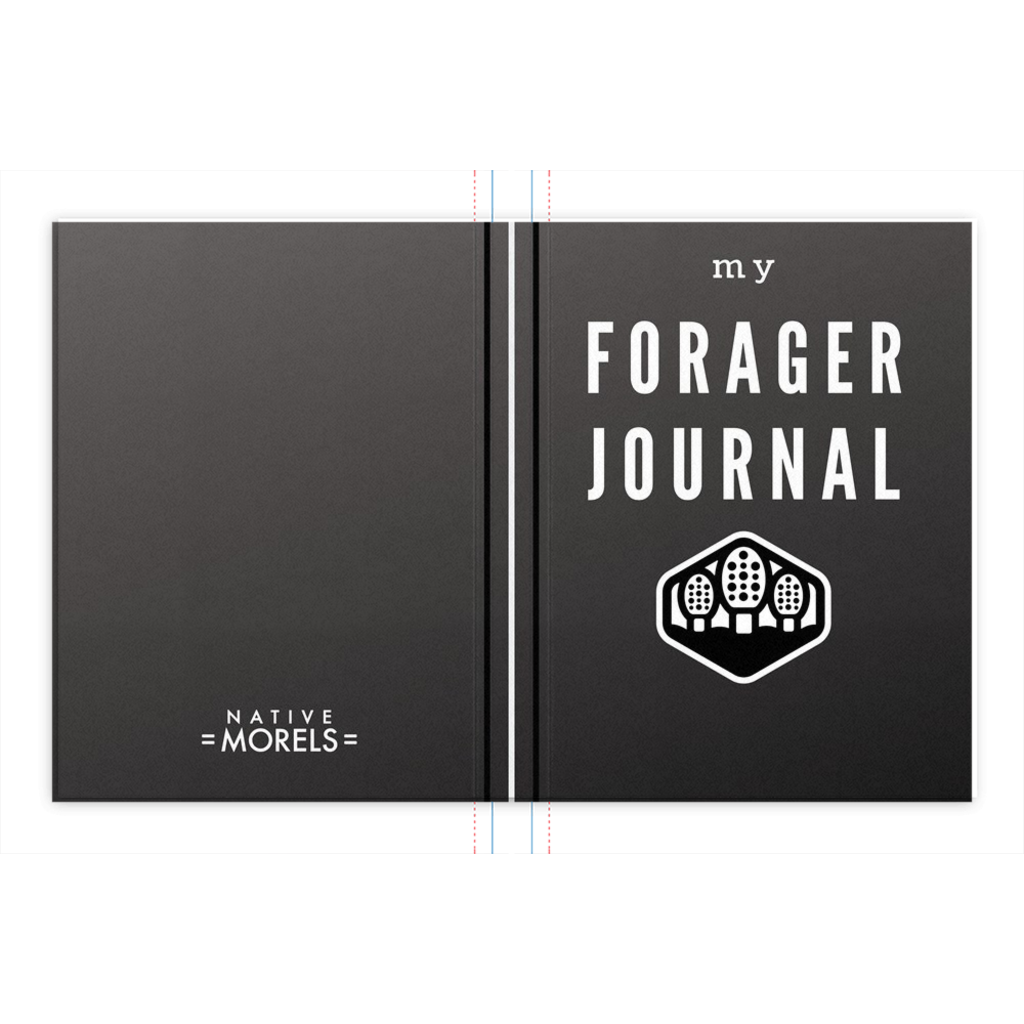 Forager Field Journal (Charcoal) - Native Morels