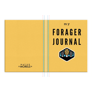 Forager Field Journal (Yellow) - Native Morels