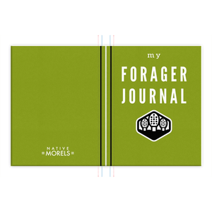 Forager Field Journal (Green) - Native Morels