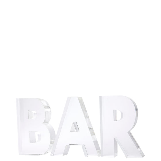 Individual letters - BAR