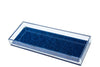 Long Vanity Tray - Blue Glitter