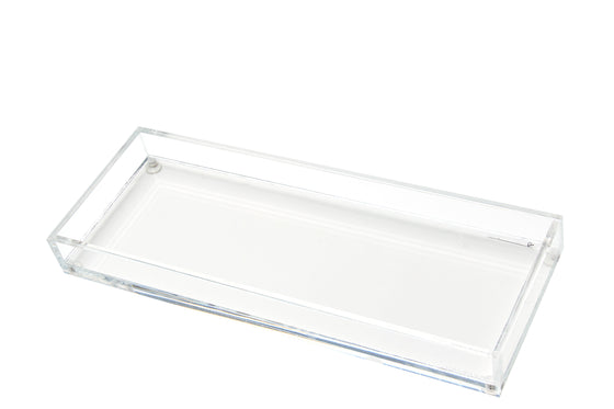 Long Vanity Tray - Clear