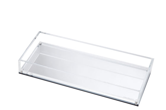 Long Vanity Tray - Silver Mirror