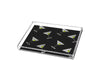 Martini Pattern black background - small tray