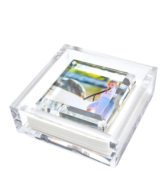 Cocktail napkin holder - photo top