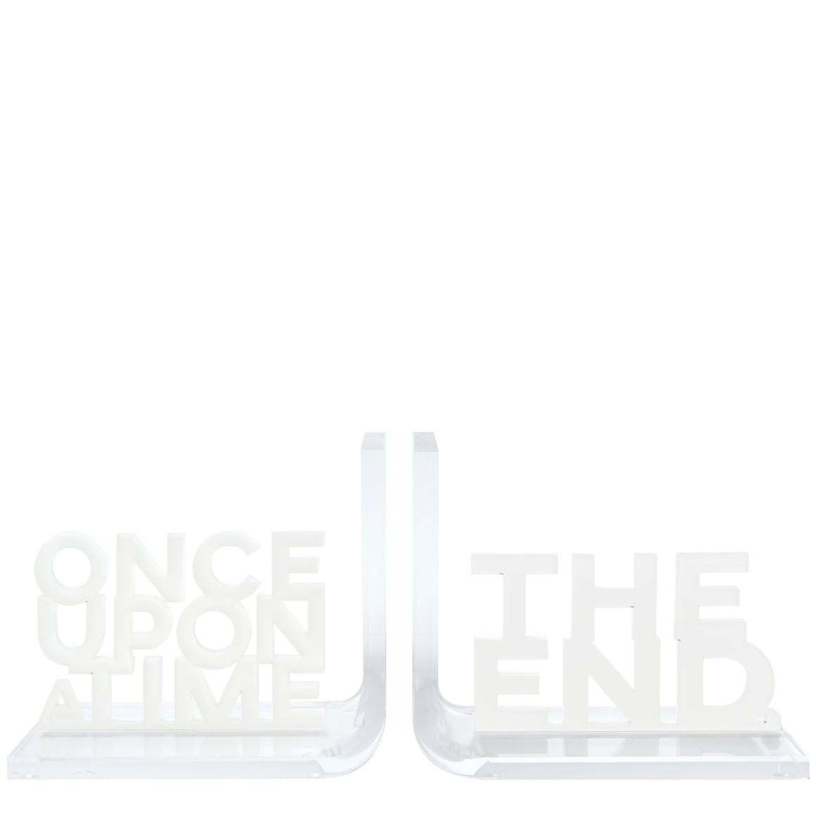 Once upon a time / the end bookends