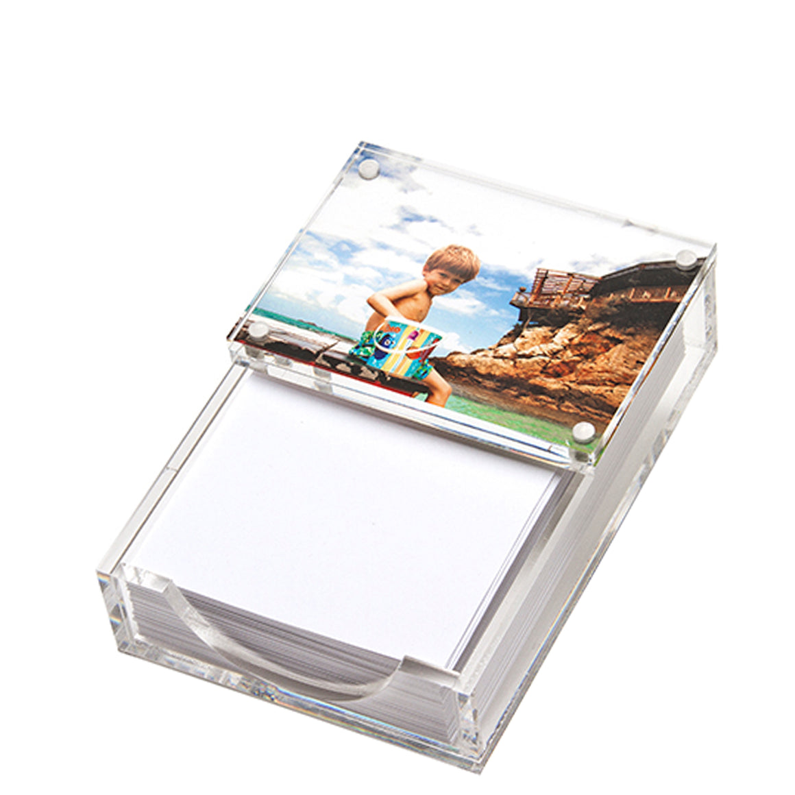 Paper holder - clear