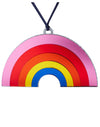 Mirrored Rainbow Ornament