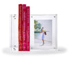 Really, really thick photo bookends