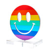 Rainbow mirror smiley face stand-alone