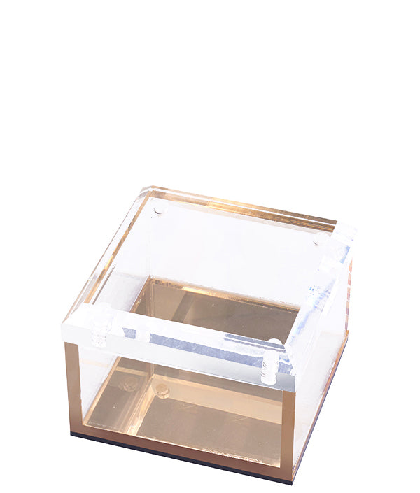 Small Box - Gold Mirror