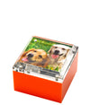 Small photo box - orange