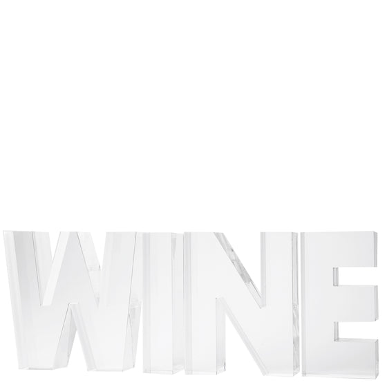 Individual letters - WINE