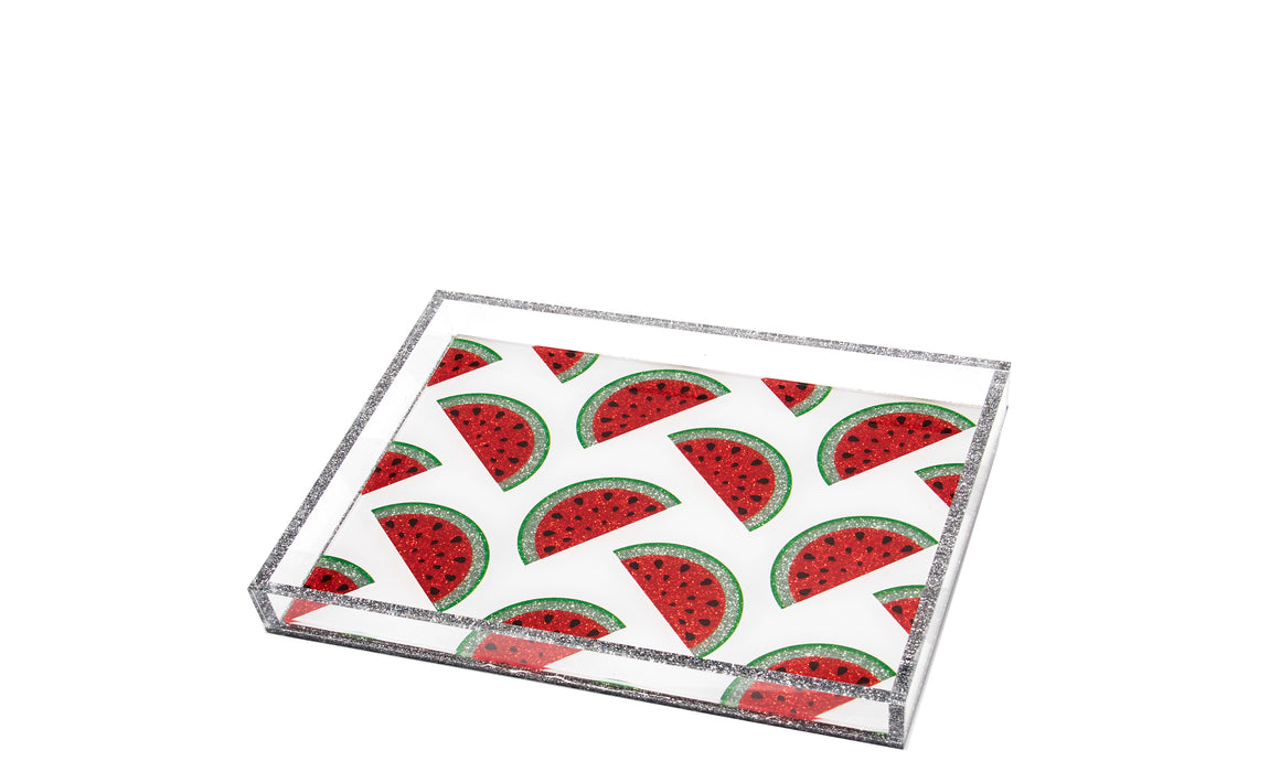 White Watermelon Tray - small tray