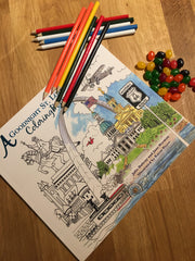 Goodnight St. Louis Coloring Book