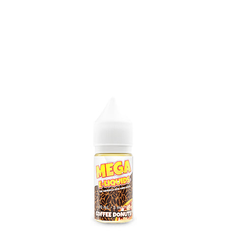 Mega E-liquids - Coffee Donuts - 10mL / 3mg