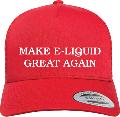 MEGA Hat - Make E-Liquid Great Again