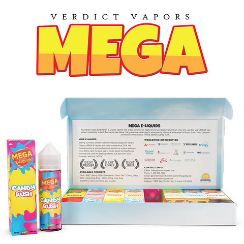 MEGA E-Liquids - SAMPLE PACK - Verdict Vapors
